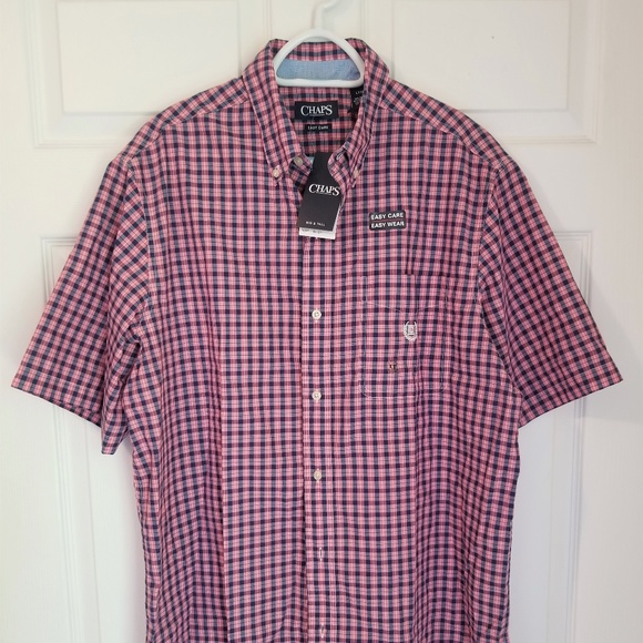 Chaps Other - Chaps Button Down NWT LT Multicolored Check